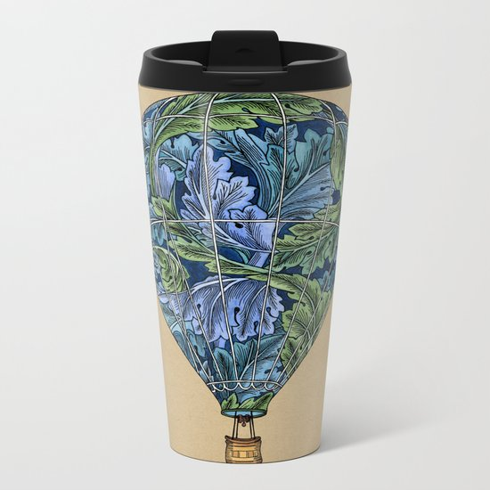 Flight Pattern Metal Travel Mug