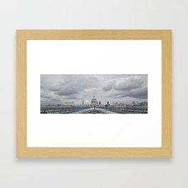 Millenium Bridge Framed Art Print