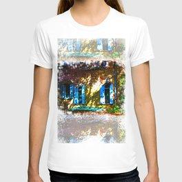 Secret Garden Castle Windows T-shirt