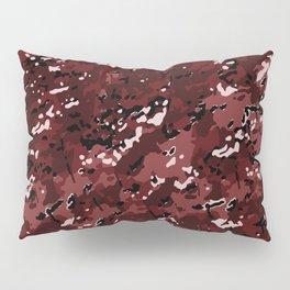 Sangria Red Popular Multi Camo Pattern Pillow Sham