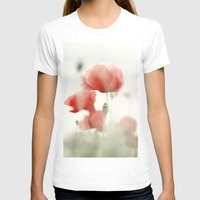 poppies T-shirts featuring Poppies by Falko Follert Art-FF77