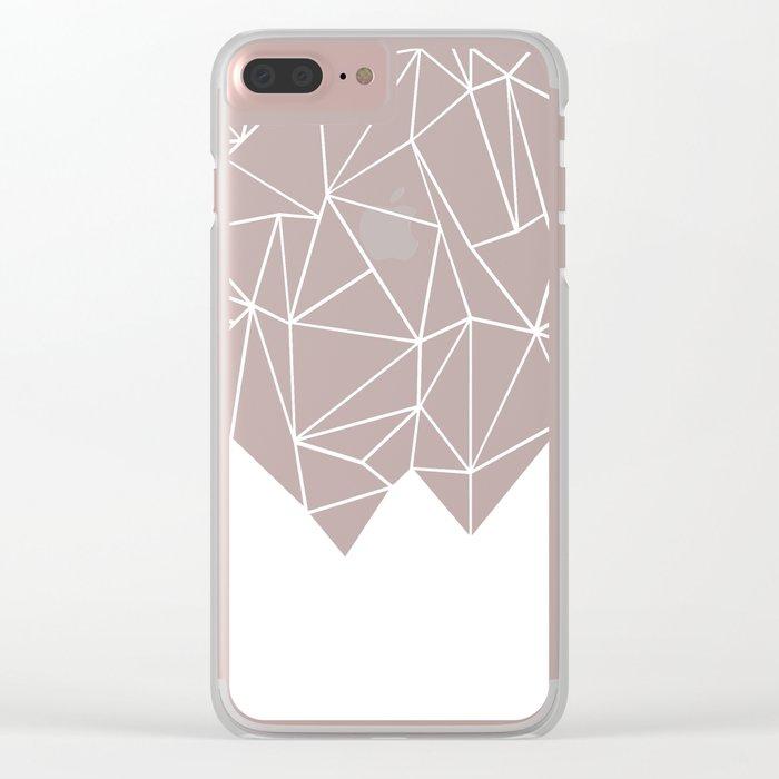 Ab Triangulation Clear iPhone Case