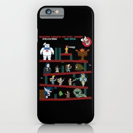 The Real Donkey Puft iPhone Case