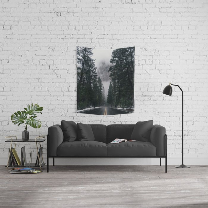 Forest Way Wall Tapestry