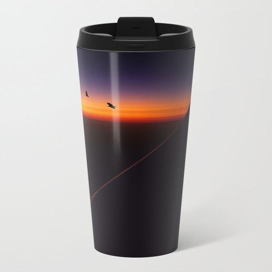 Boeing Sunset Metal Travel Mug