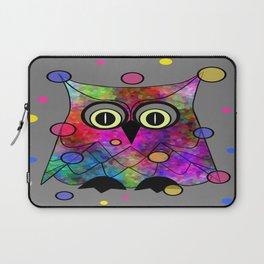 Psychedelic Owl Laptop Sleeve