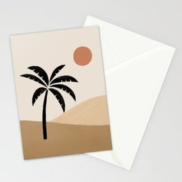 Desert Sun Palm Stationery Cards