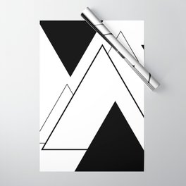 Minimal Mountains Wrapping Paper