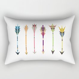 Arrow Collage Rectangular Pillow
