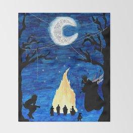 Another Midsummer Throw Blanket
