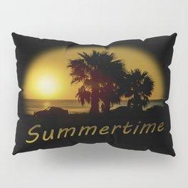 Sunset Scene at the Coast of Montevideo Uruguay Pillow Sham