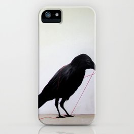 Black Raven iPhone Case