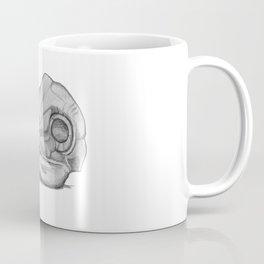 Barn Owl Skull Coffee Mug