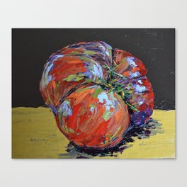 heirloom tomato Canvas Print