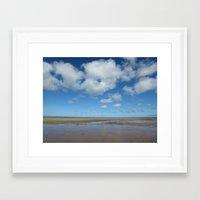 cape cod Framed Art Prints featuring Cape Cod by Marina Grebenshikova