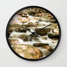 Waterfall Wall Clock