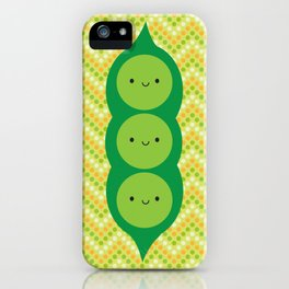 Peas in a Pod iPhone Case