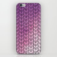 herringbone iPhone & iPod Skins featuring Herringbone by Tooth & Nail Designs