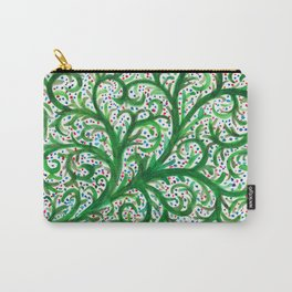 Green Vines Carry-All Pouch
