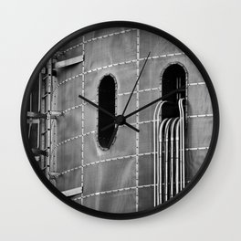 confined spaces Wall Clock