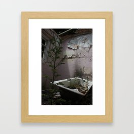 Bath Time... Framed Art Print