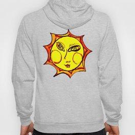 Yellow Sun Mandala Hoody