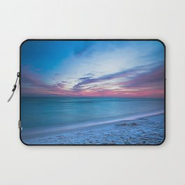 If By Sea - Sunset and Emerald Waters Near Destin Florida Laptop Sleeve