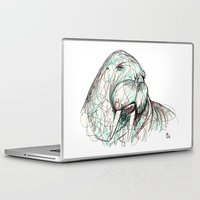 walrus Laptop & iPad Skins featuring Walrus by Ursula Rodgers