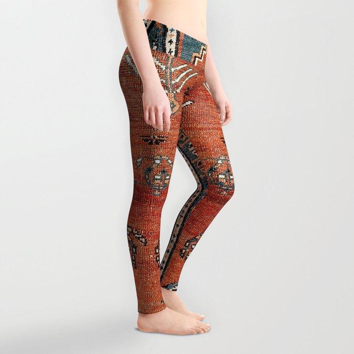 Bakhshaish Azerbaijan Northwest Persian Carpet Print Leggings
