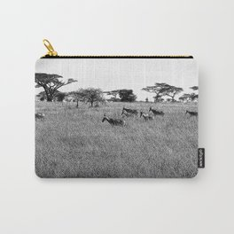 Impala in the grass Carry-All Pouch