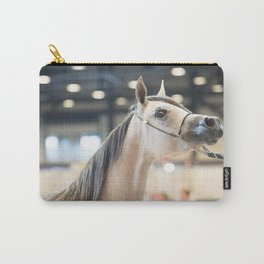 horse collection. arabian white Carry-All Pouch
