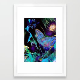 Beyond The Webbed Galaxy Framed Art Print