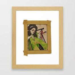 GUXI GIRL Framed Art Print