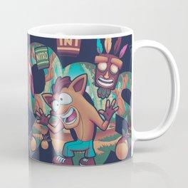 Jumping Since the 90s // 90s Kid, Bandicoot, Platformer Coffee Mug