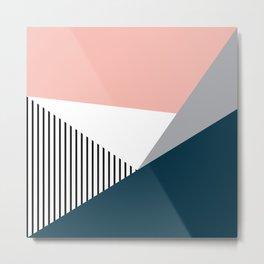 Colorful geometry 2 Metal Print