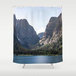 Phelps Lake - Grand Teton National Park Shower Curtain