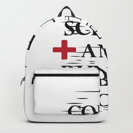 Coffee Gloves Nurse Life Funny Gifts Backpack