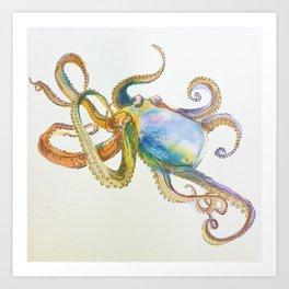 Flaming limbs '15 Art Print