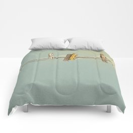Vintage Clothespin Comforters