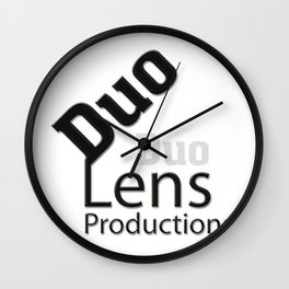 Duo Lens Productions Wall Clock