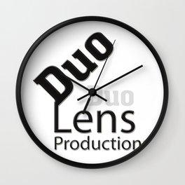 Duo Lens Productions Wall Clock