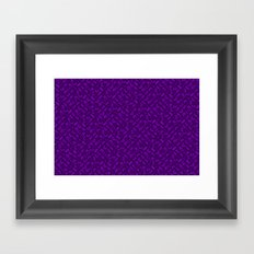 Control Your Game - Tradewinds Purple Framed Art Print