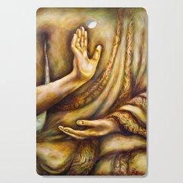 """""""Healing Hands"""" Cutting Board"""