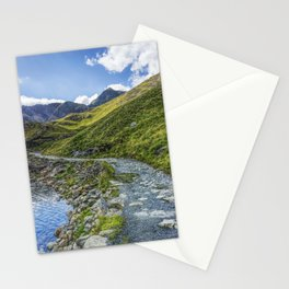 Path To Snowdon Stationery Cards