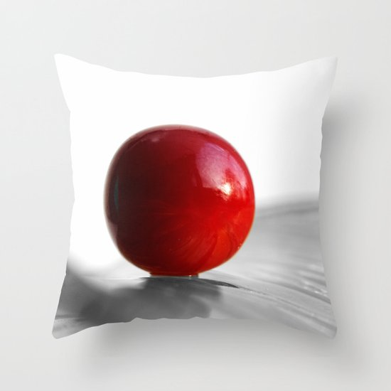 Red Heart Throw Pillow by Tanja Riedel Society6