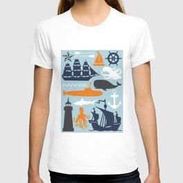 Totally Nautical Multi T-shirt