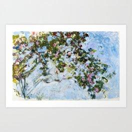 "Claude Monet ""The Rose Bush"" Art Print"