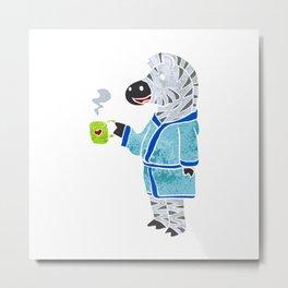 Funny zebra. Metal Print