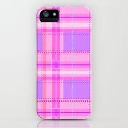 Cuter Than You Plaid iPhone Case
