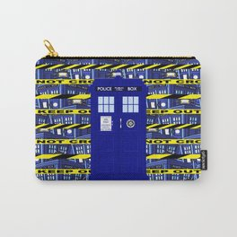 Tardis Yellow Line Carry-All Pouch